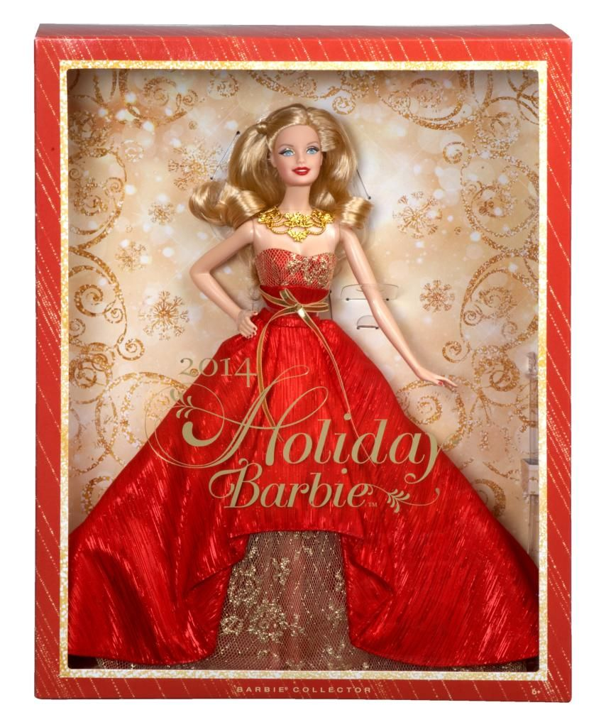 View larger A Beloved Holiday Tradition The Holiday Barbie Doll is ...