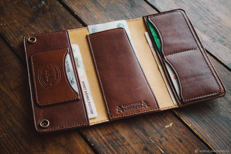 6804215fa12b Длинный бумажник - портмоне , ручной работы – купить в интернет-магазине на Ярмарке  Мастеров с доставкой - F57CPRU | Санкт-Петербург