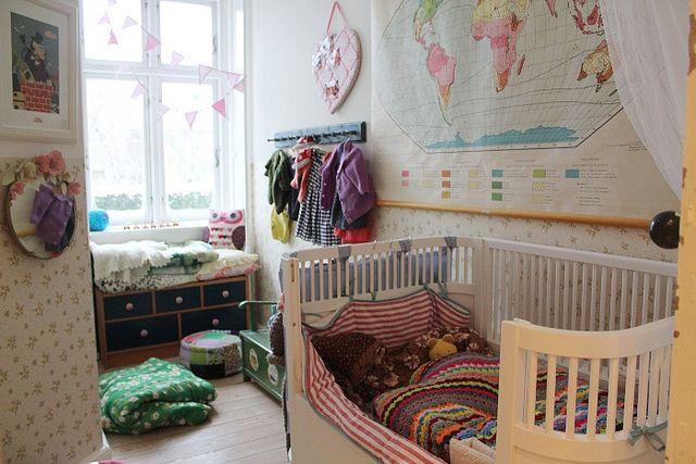 Viljas room by Laura P M, via Flickr