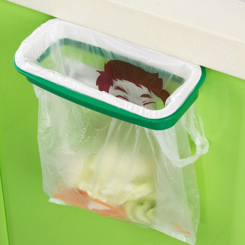 Garbage Bag Holder Hanging Kitchen Cupboard Cabinet Tailgate Stand Storage Garbage  Bags Rack Rubbish Bag Storage