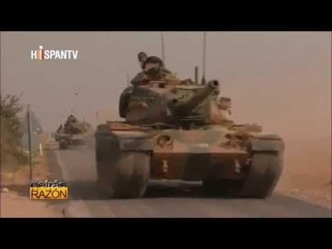 Turquía Invasion de Siria la punta del iceberg!!