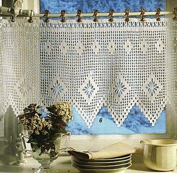 rideaux curtains idea pinterest crochet crochet curtains and tricot. Black Bedroom Furniture Sets. Home Design Ideas