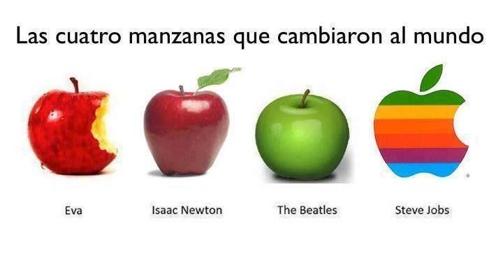 4 Manzanas Que Cambiaron Al Mundo Manzana Isaac Newton Cambiar El Mundo