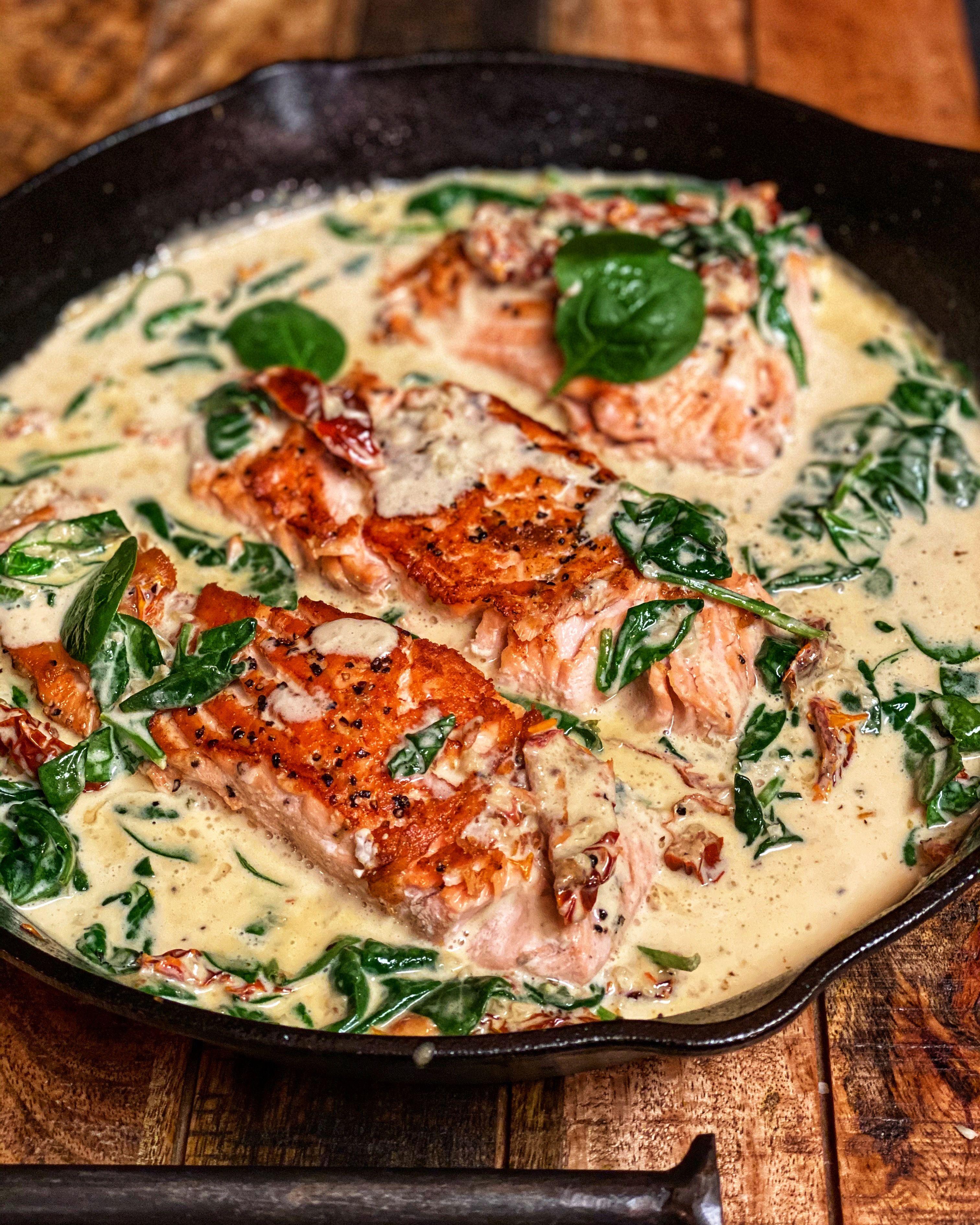 Tuscan Salmon Keto
