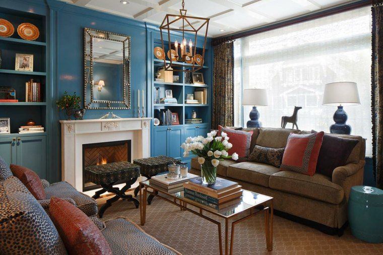 Traditional Living Rooms With A Modern Twist couleur tendance 2015-2016 et design d'intérieur | salon design
