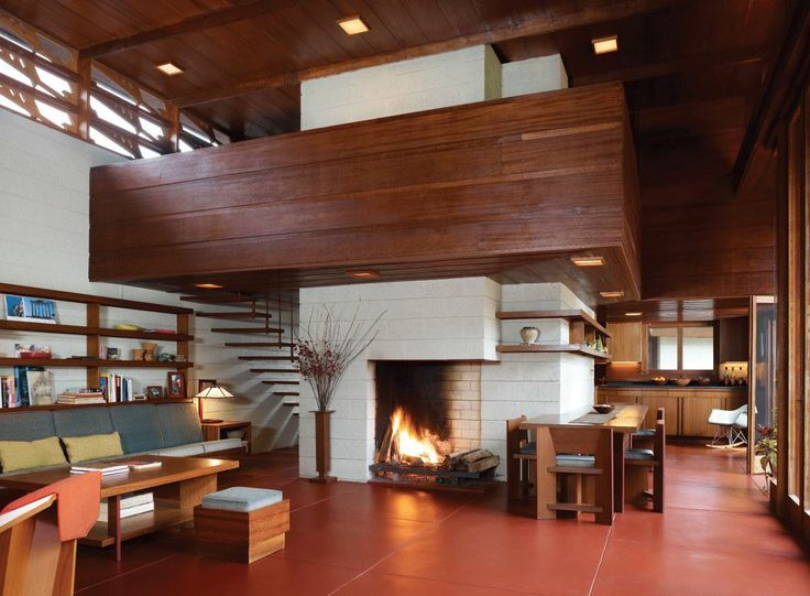frank lloyd wright interior - Google Search