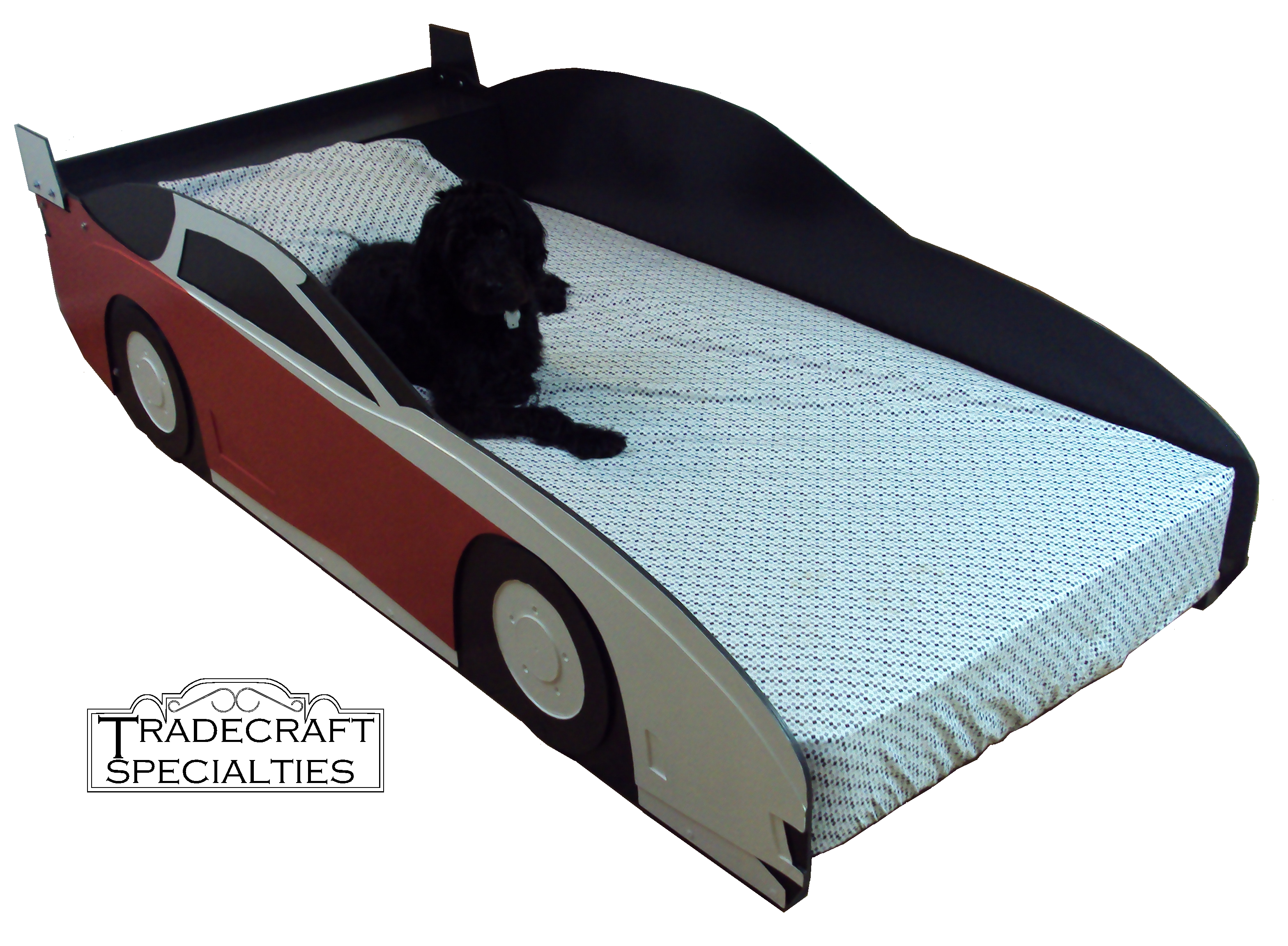 Drift car twin size bed frame | Car beds | Pinterest