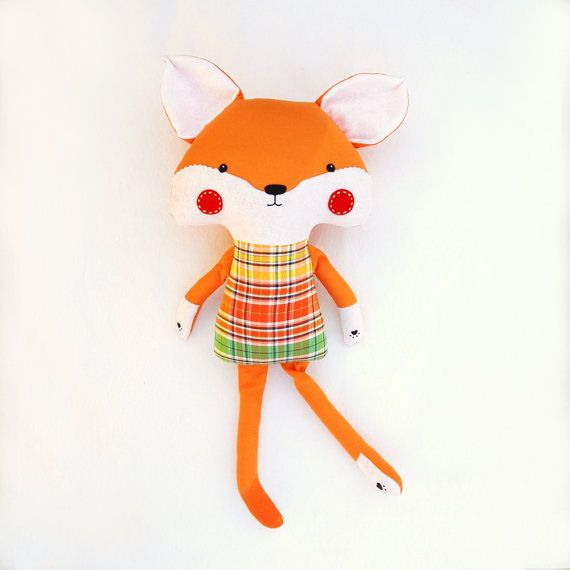 Freddy Fox by SquishyBee on Etsy