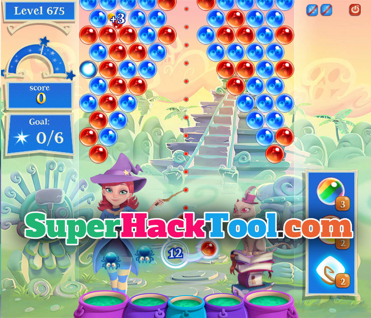 Bubble Witch 3 Saga Hack Tool for Android and iOS