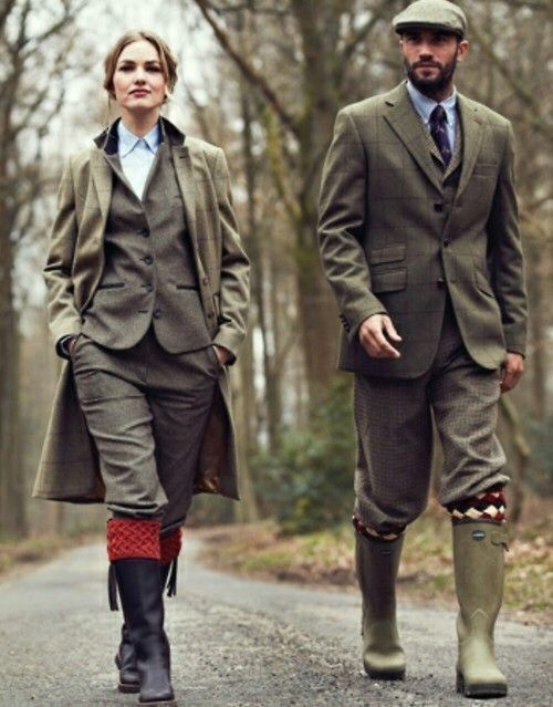 Fall Season Hunt Fashion With Wellies Of Course