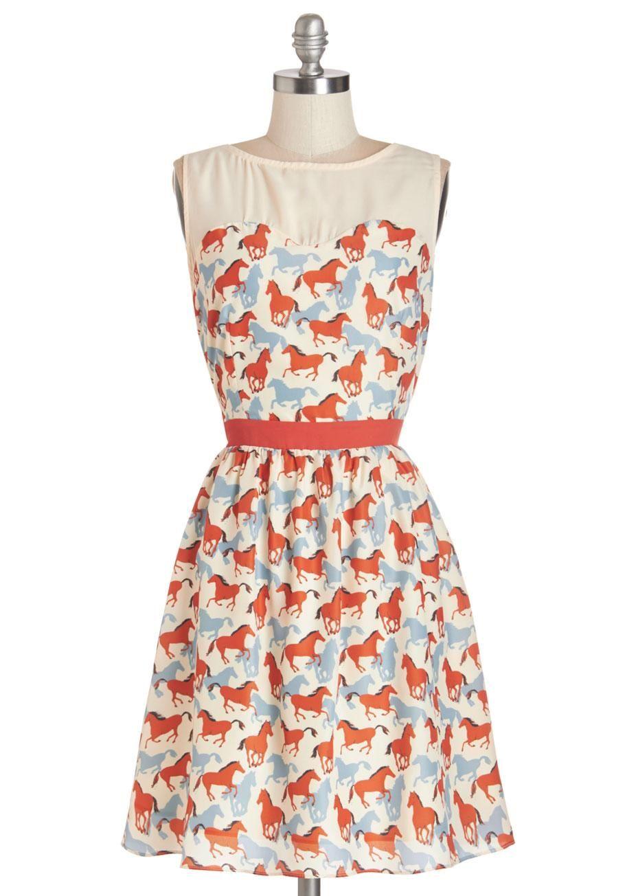 Pferde-Kleid von ModCloth #pferd #reiterstyle