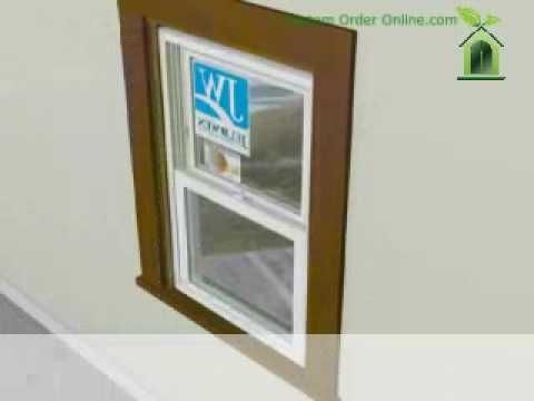 Jeld Wen Vinyl Replacement Window Installation How To