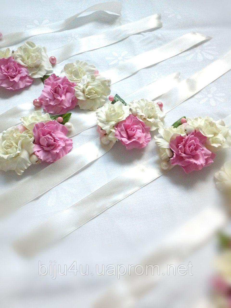 Свадебные цветы на украшения купить киев где можно купить тюльпаны осенью
