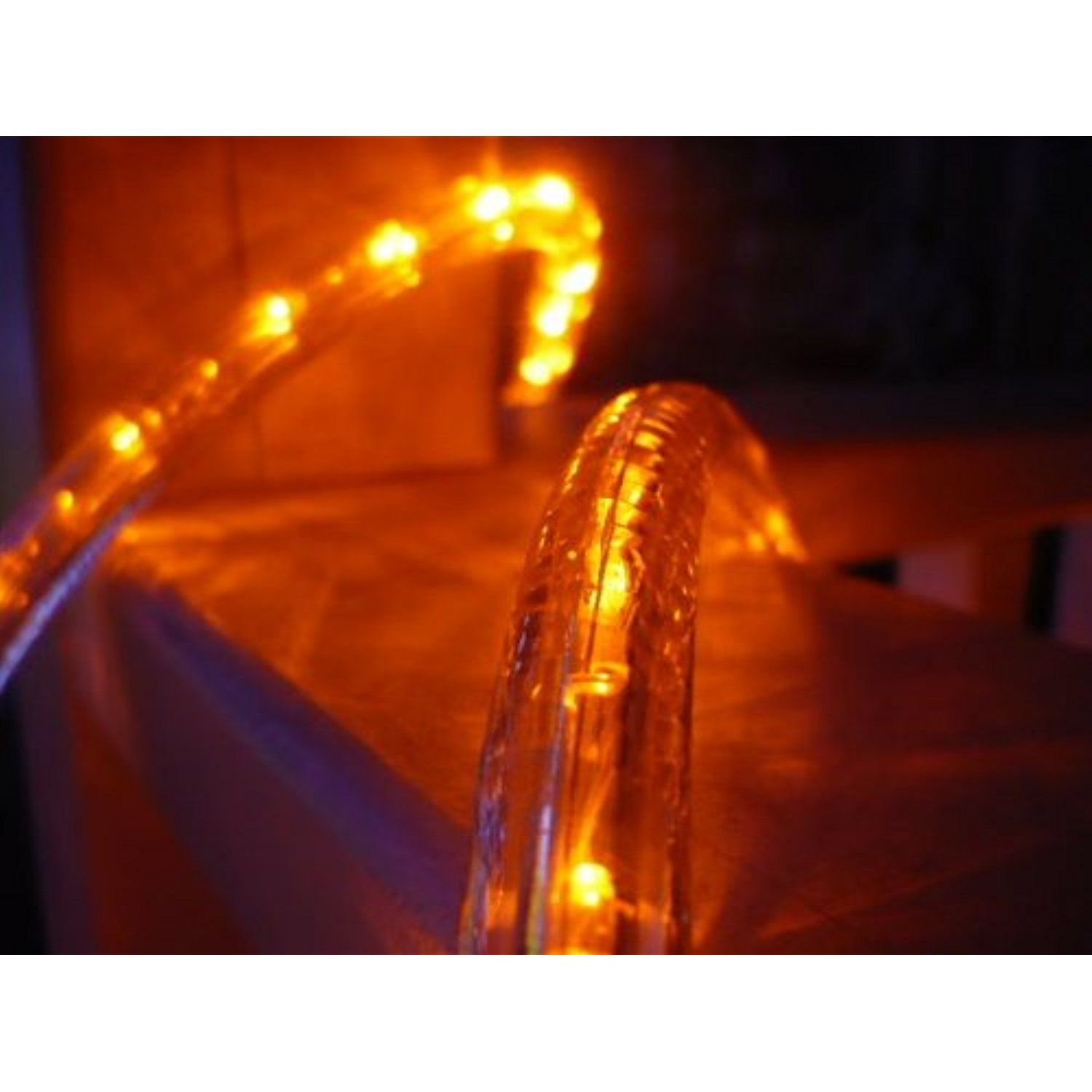 Cbconcept 12v lr18ft o low voltage 12v orange 18 feet 2 wire 12 cbconcept orange 18 feet 12 led rope light 10 led spacing christmas lighting indoor outdoor rope lighting details can be found by clicking on the image aloadofball Image collections