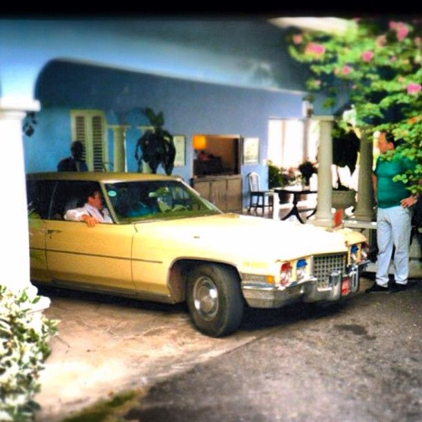 The way it used to be... Not a Toyota in sight. Rudi McBeans caddy taxi 1987 at Jamaica Inn. #Cadillacdreams #travelinstyle #instagram