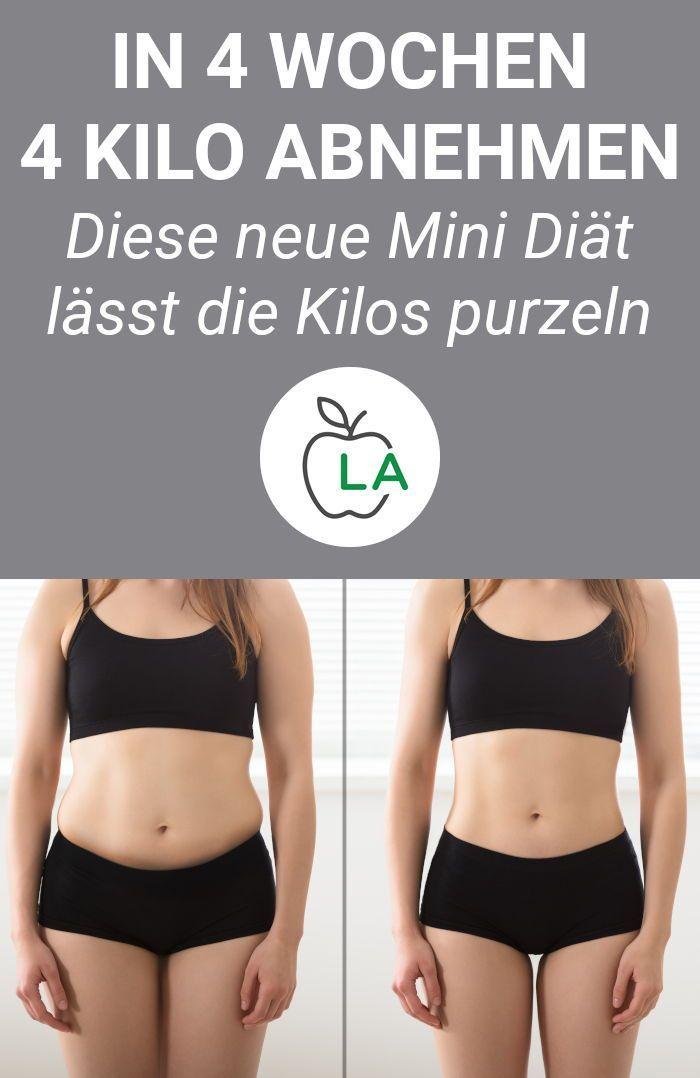 Diät, um 4 kg in zwei Wochen zu verlieren