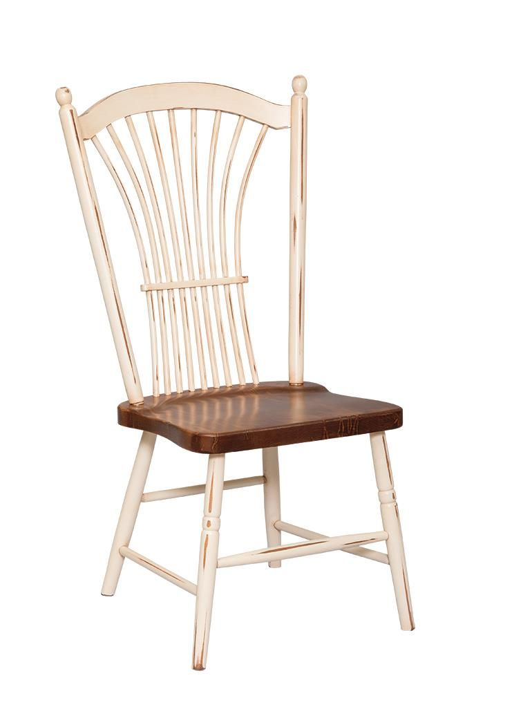 Amish Wheat Back Dining Chair Solid Wood Dining Chairs Dining Chairs Country Style Furniture