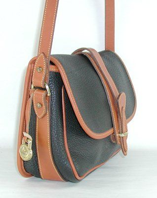 6aedf952535a Authentic Dooney and Bourke All Weather Leather Equestrian Shoulder ...
