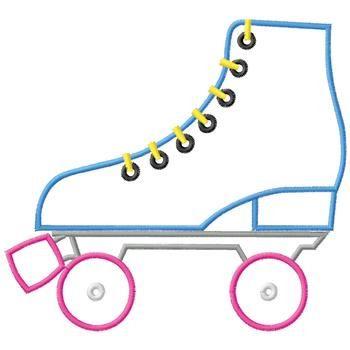roller skate clip art outline clipart free clipart moldes rh pinterest co uk
