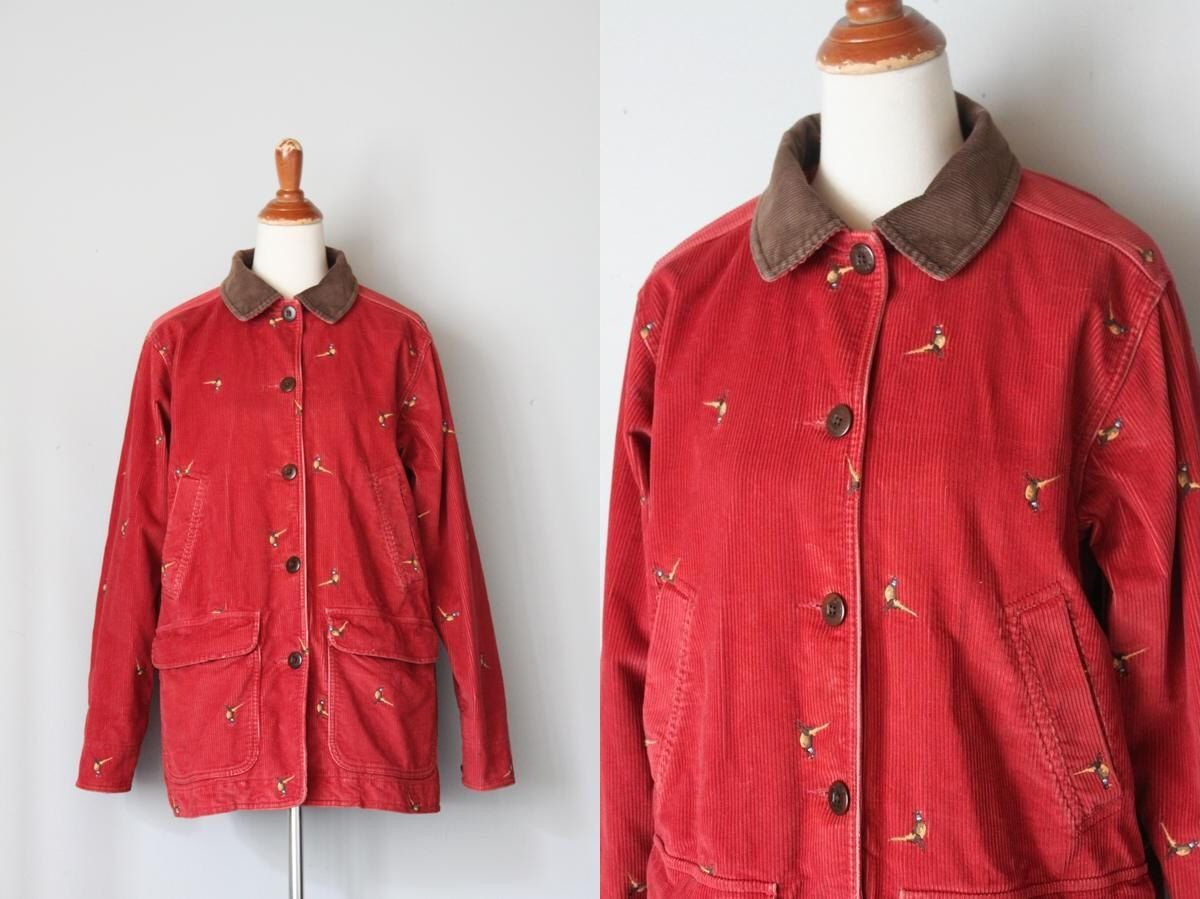 A personal favorite from my Etsy shop https://www.etsy.com/listing/468861854/vintage-gamekeeper-corduroy-pheasant