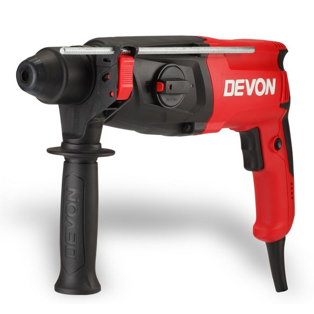 $129.99 (Buy here: http://appdeal.ru/d2vv ) Professional Electric Rotary Hammer Devon 1107-26DE 800W Adjustable Speed SDS-plus Chuck Demolition Hammer Drill Perforator for just $129.99