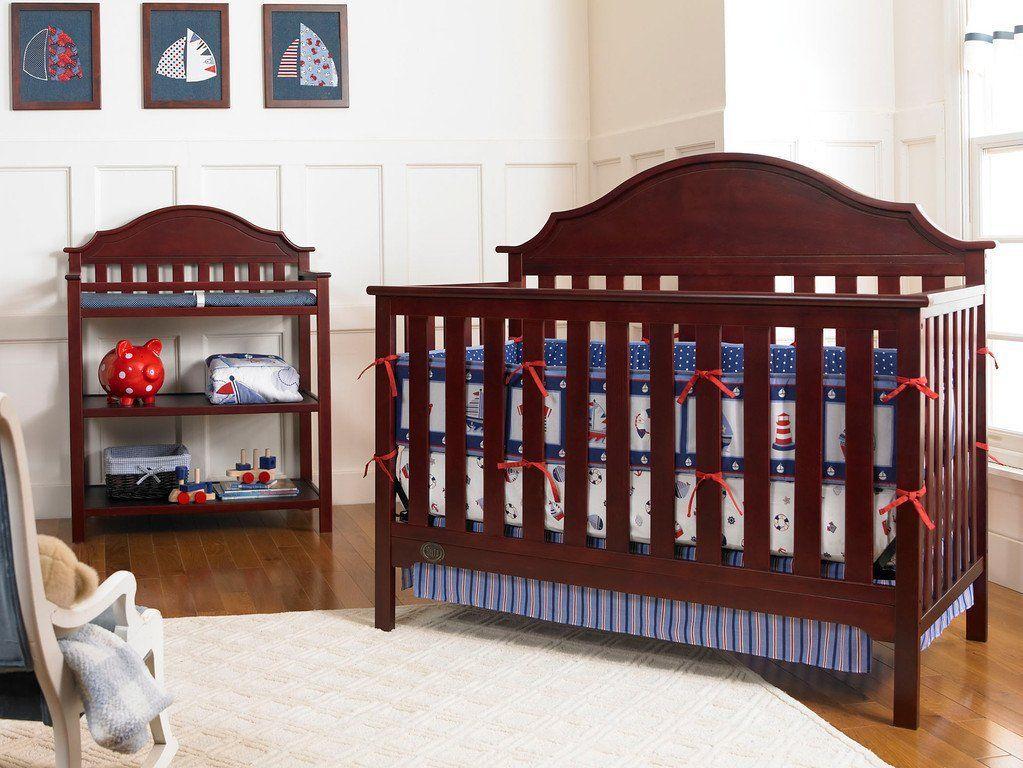 Baby Crib Convertible crib, Cribs, Nursery furniture