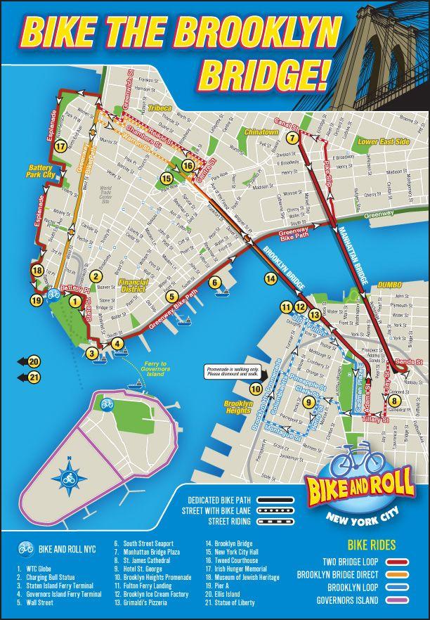 Bike the Brooklyn Bridge (and the Williamsburg)   Brooklyn