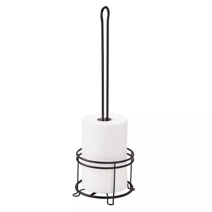3 Roll Freestanding Toilet Tissue Holder Bronze Threshold Free Standing Toilet Paper Holder Toilet Paper Holder Uses Toilet Paper Holder Stand