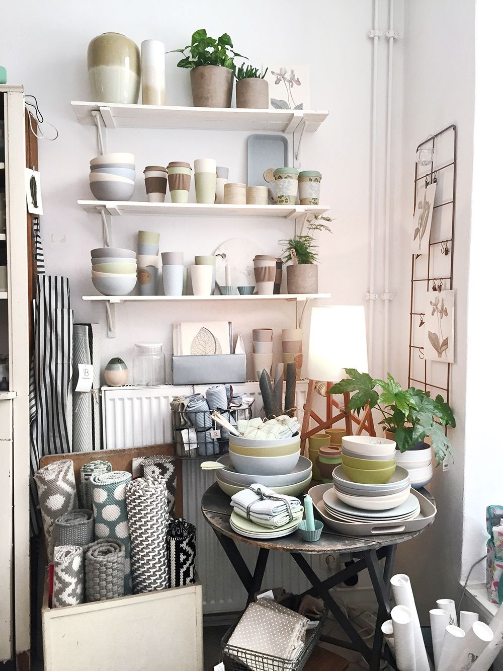 Im Laden interior laden berlin bamboo küche Shabby