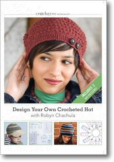 Design your crochet hat- book and video