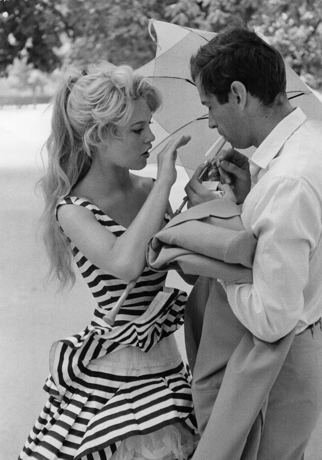 Glorious Queensbrigitte Bardot And Roger Vadim 1950s 1960s