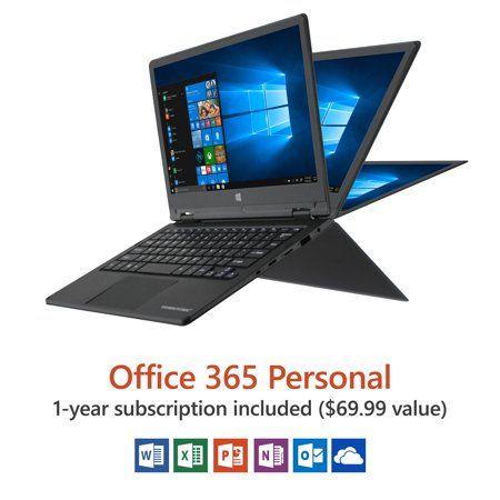 Direkt-Tek 11 6 inch Convertible Touchscreen Laptop, Windows
