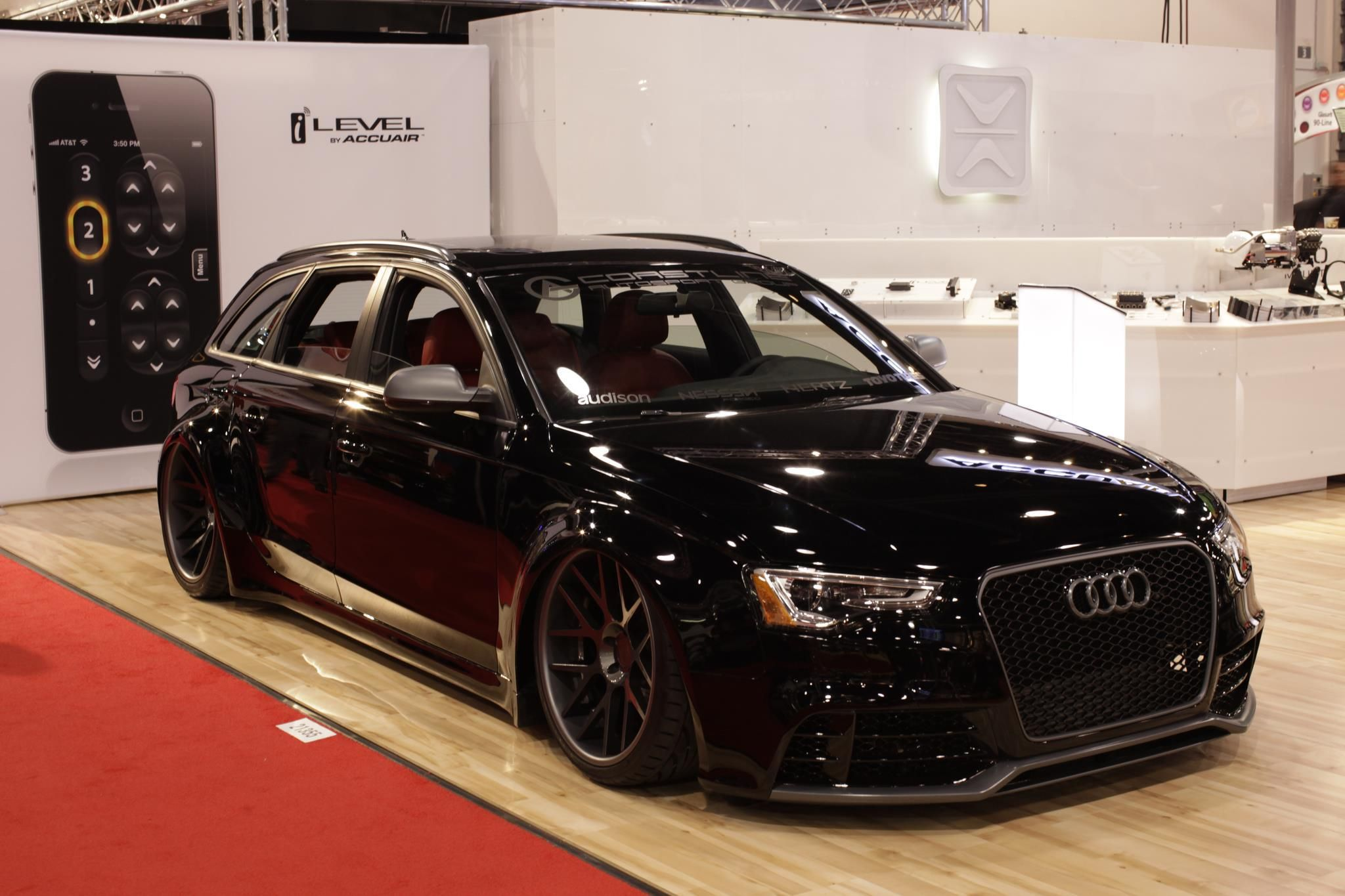 amazing build by the accuair suspension guys b8 avant. Black Bedroom Furniture Sets. Home Design Ideas