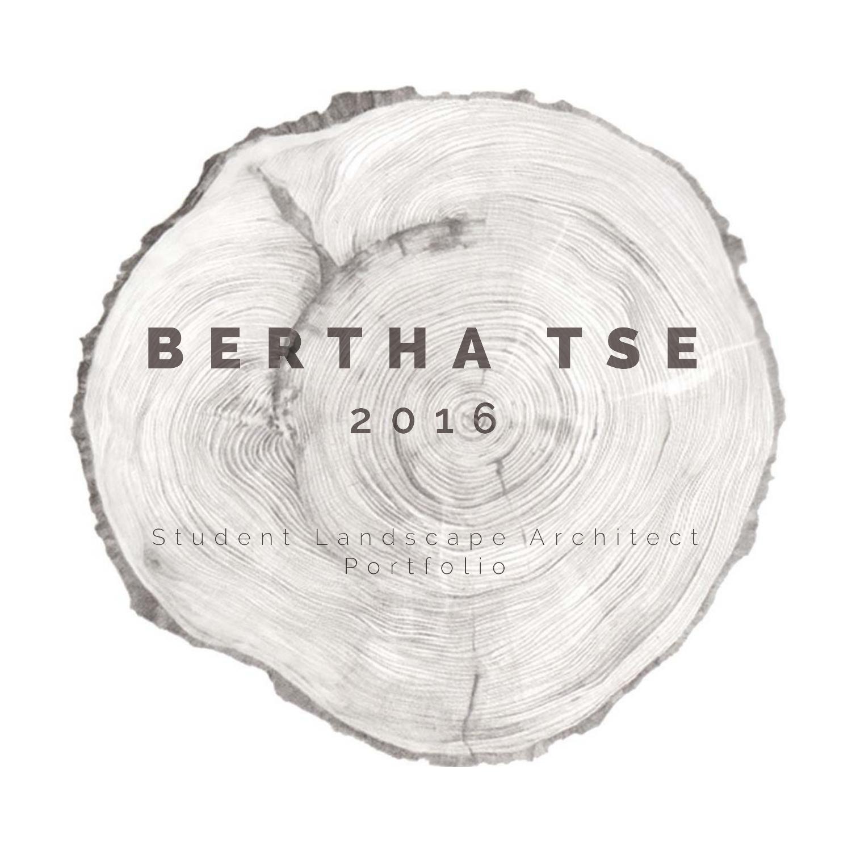 Bertha Tse 2016 Student Landscape Architect Portfolio   Portafolio