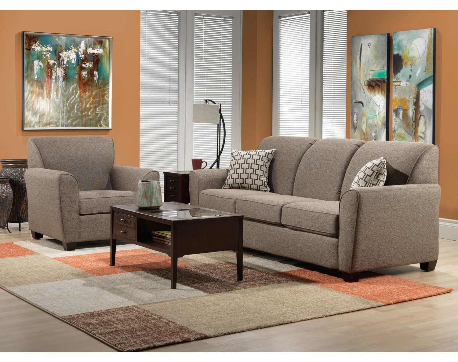 Living Room Furniture The Calla Collection Sofa