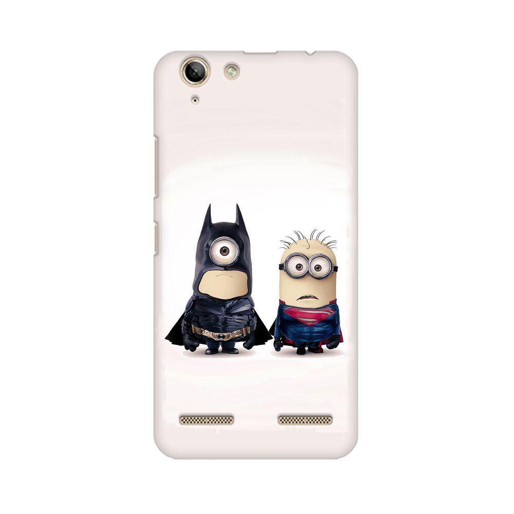 Batman Vs Superman Minions Phone Case For Lenovo Vibe K5 Plus
