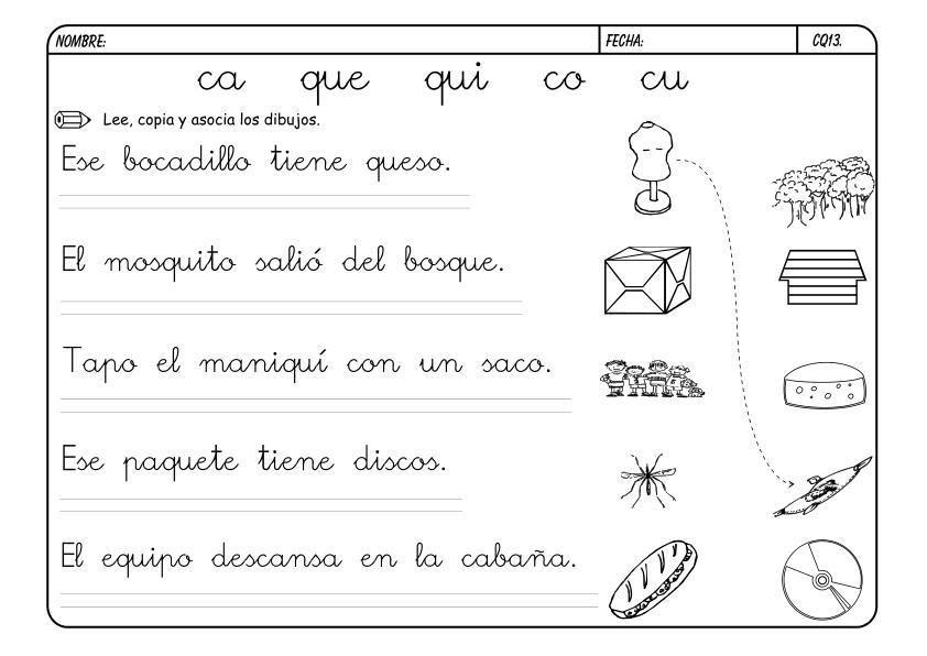 metodo de lectoescritura jose boo Letra C-Q | Education ...