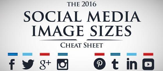 Der SocialMediaSpickzettel Die wichtigsten Bildgrößen