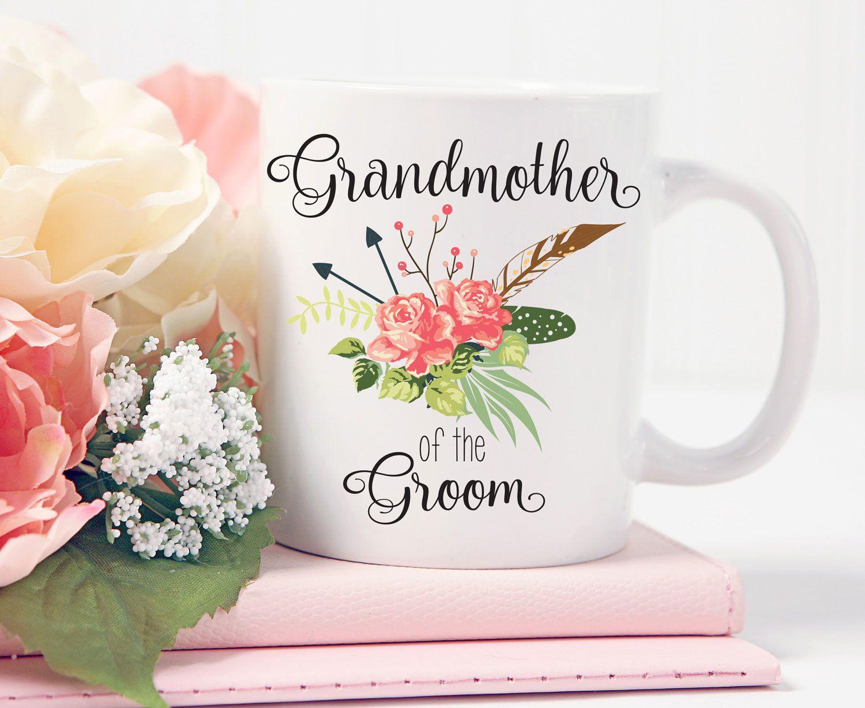 Grandmother of the Groom Mug, Grandmother of the Groom Gift, For ...