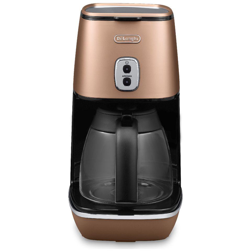 De\'Longhi ICMI211.CP Distinta Filter Coffee Maker - Matt Copper