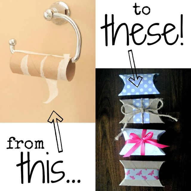 Save Your Toilet Paper Rolls Gifts Roll Crafts