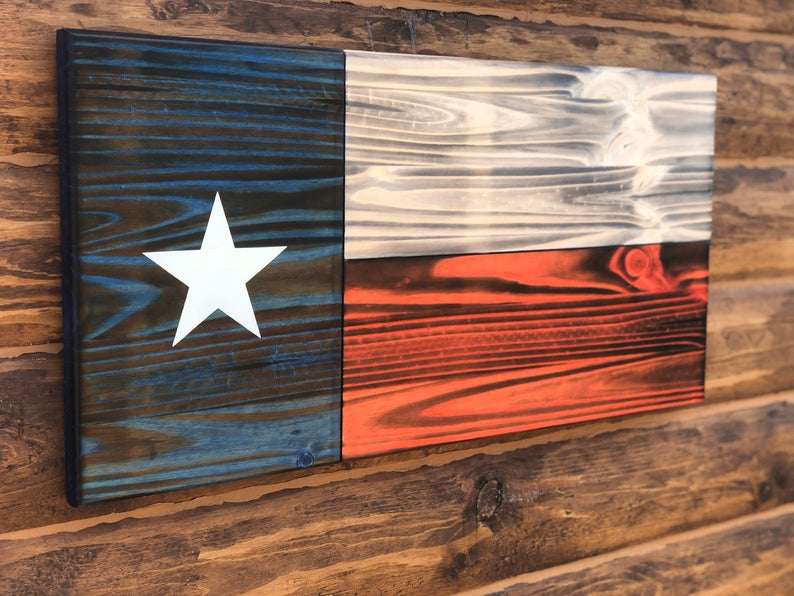 Pin On Wooden American Flag