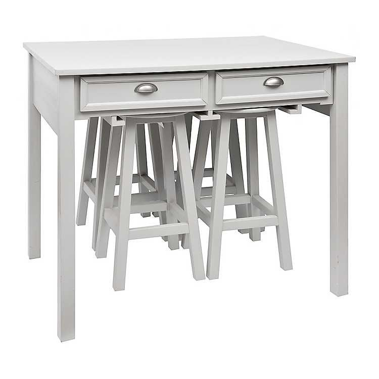 Console Kitchen Table With Stools With Images Kitchen Table