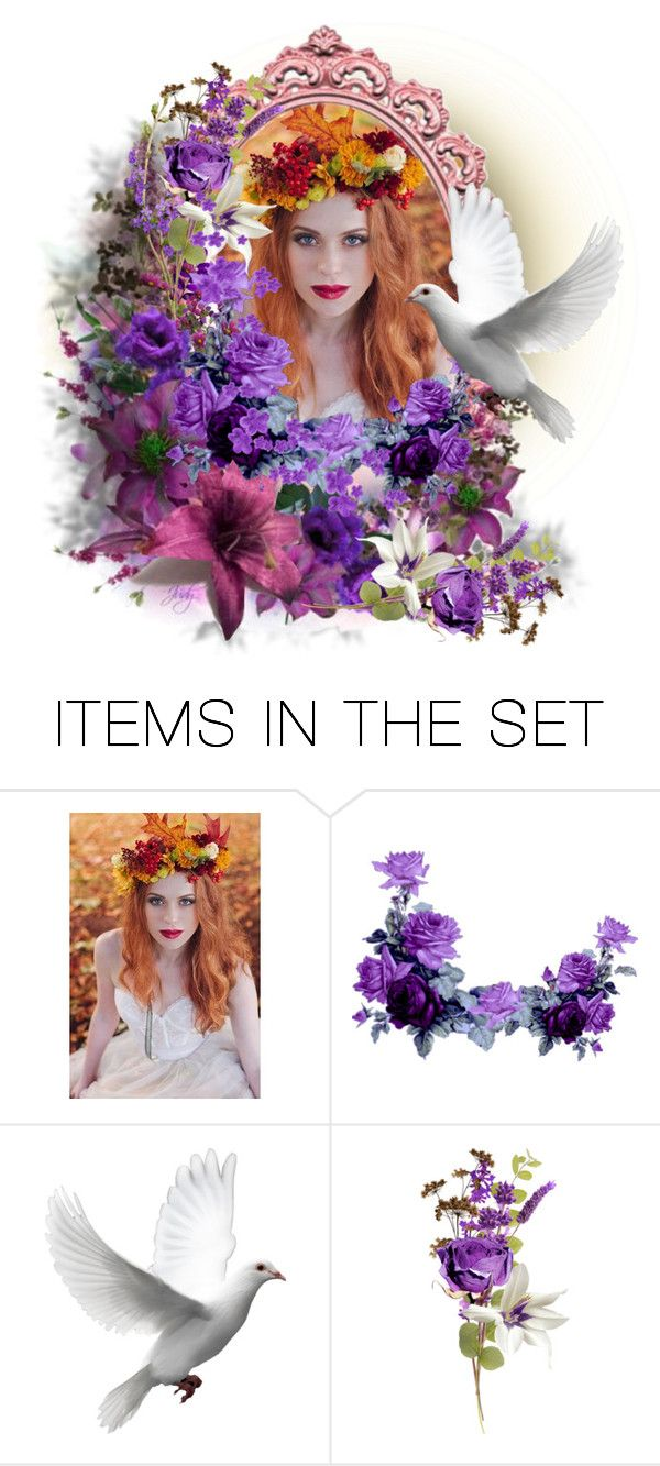 """""""White Bird"""" by kathy-martenson-sanko ❤ liked on Polyvore featuring art"""