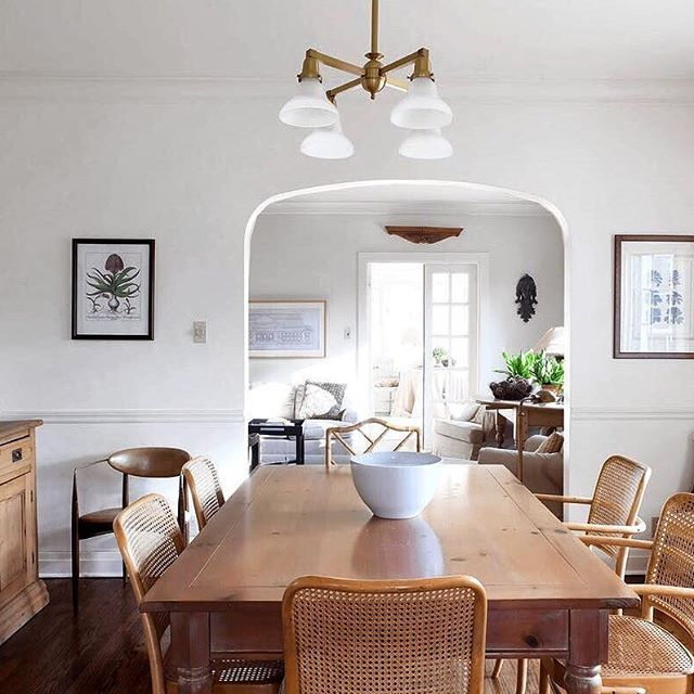 Youll love this 1902 home that has perfected the modern farmhouse style click the link in our bio to see more of the space which has been in the family