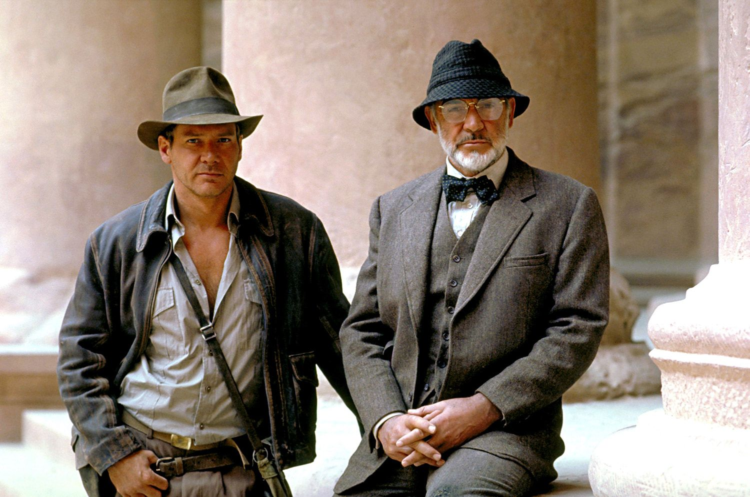 Harrison Ford Honors His Indiana Jones Father Sean Connery God We Had Fun Harrison Ford Indiana Jones Indiana Jones Harrison Ford