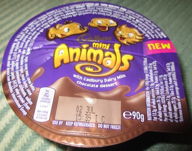 Foodstuff Finds Cadburys Mini Animals In Chocolate
