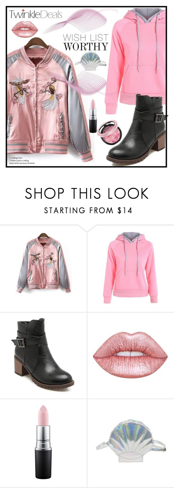 """""""Twinkledeals contest!"""" by zon-vito ❤ liked on Polyvore featuring Lime Crime and MAC Cosmetics"""