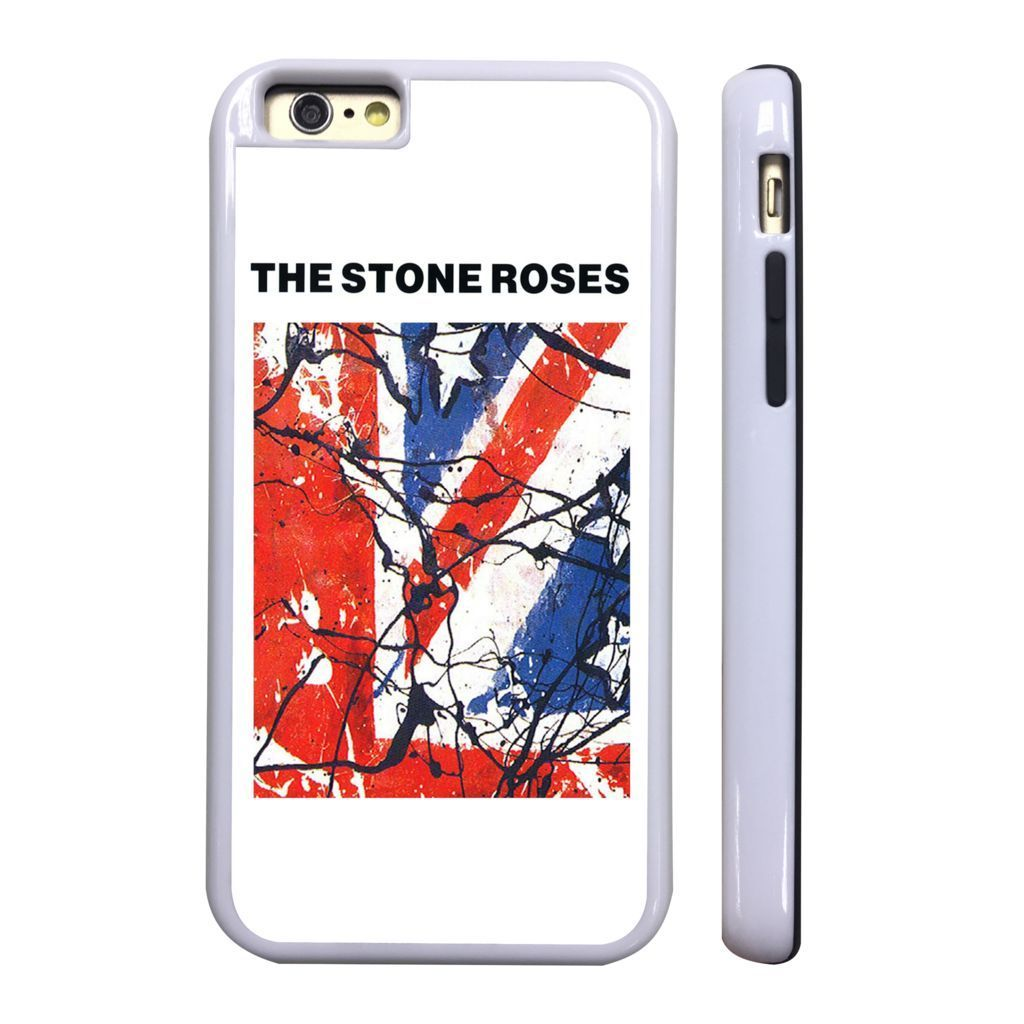 wholesale dealer b9999 4af78 Stone Roses Flag White Protective Phone Case Cover Fits Iphone 4 5 6 ...