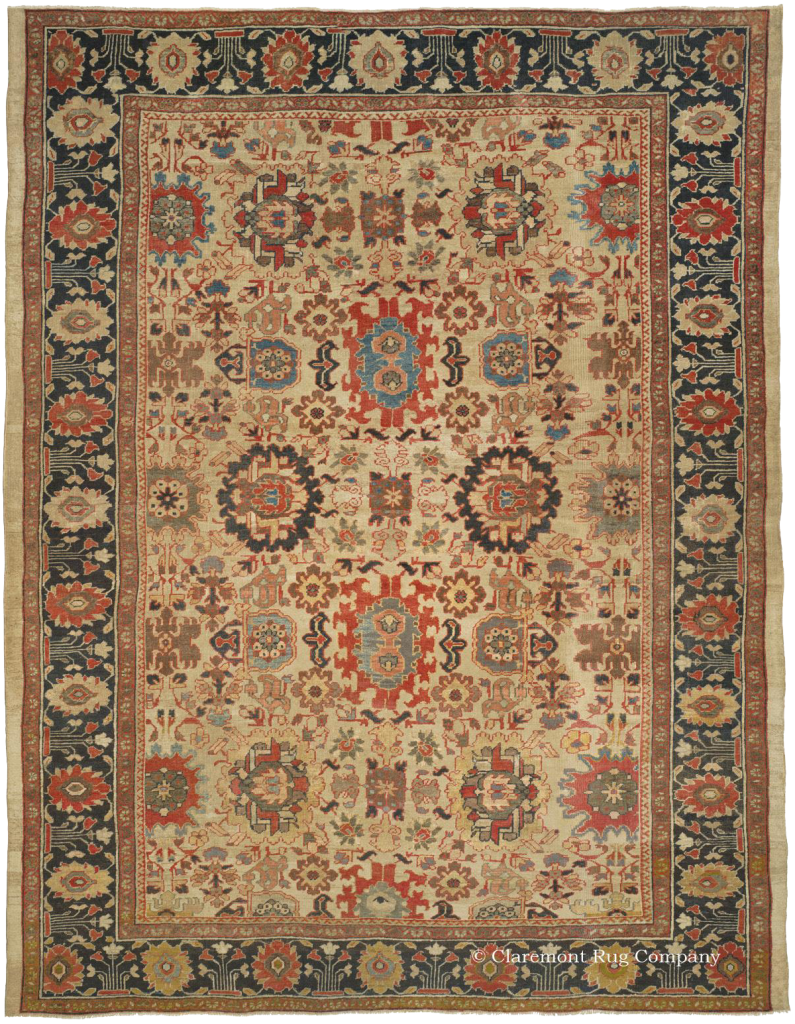 Sultanabad West Central Persian 10ft 8in X 13ft 10in 3rd Quarter 19th Century Http Www Claremontrug Com Anti Claremont Rug Company Rugs Persian Rug Designs